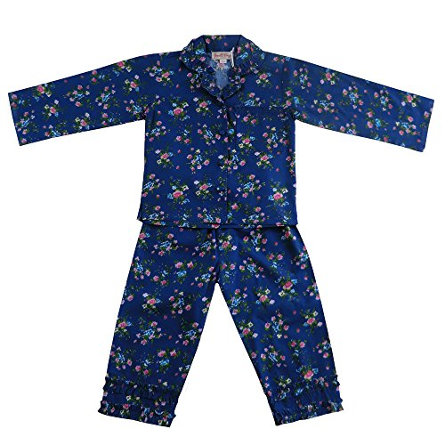 100-cotton-longsleeve-pyjamas-navy-blue-floral-with-pink-flowers-powell-craft-age-10-12yrs