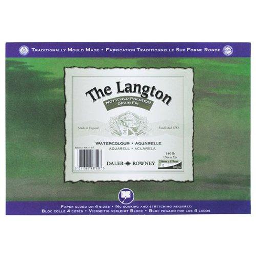Daler Rowney Langton Block (NOT) 300gsm (140lb) 10 x 7