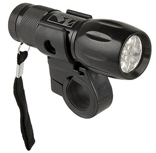 M-Wave Batterielampe Apollon A 9.1, schwarz - 9 Fahrrad-licht Led