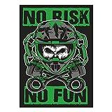 Wetterfester Aufkleber Motocross 13 cm oder 40 cm MX cross enduro bike Sticker