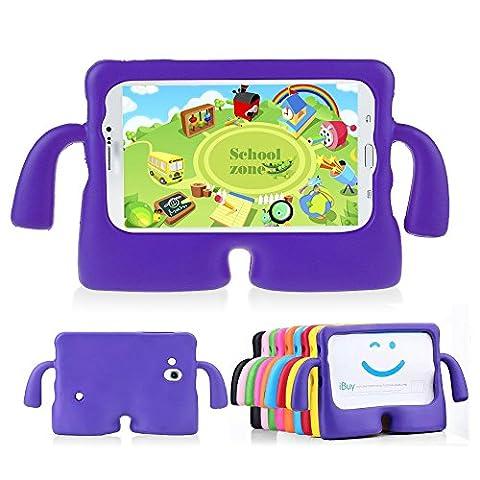 Muze (TM)-Samsung Galaxy Tab 3Fall, schützende gummierte EVA Schaumstoff stoßfest Griff Schutzhülle, strapazierfähig, leicht Cute (Custodia Protettiva In Gomma)