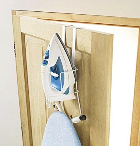 Tür Bügelbrett-halter (Bügeleisen Brett Organizer für Türen - Türhalterung)