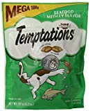 Whiskas Temptations Cat Treats (Seafood Medley Flavor) 6.3 oz by Mars, Inc.