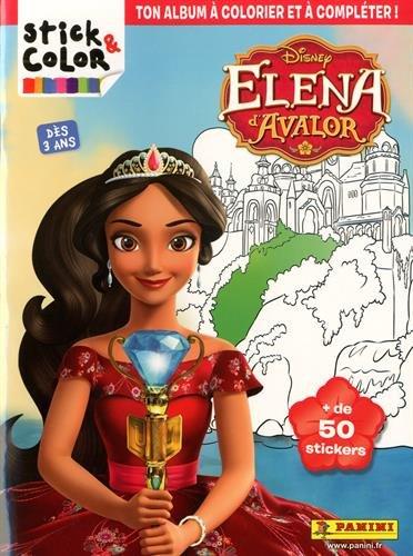 Stick & Color Elena d'Avalor