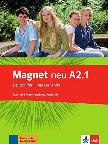 Magnet neu a2.1, libro del alumno y libro de ejercicios + cd por Vv.Aa
