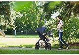 KinderKraft KKWMOOVGRY0000 Kinderwagen Kombikinderwagen 3 in 1 mit Buggy Babyschale, grau - 15
