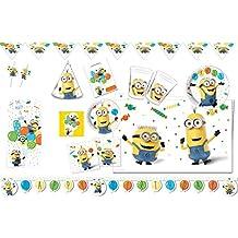 "'Procos 10115648–Party Set ""Minions Balloon, XXL"