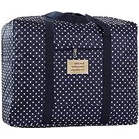 Große Oxford Aufbewahrungstasche Robuste Trage-Tasche handliche Reisegepäck Bettdecken und Kissen Gepäcktaschen Auflagentasche Betttaschen Waschesack für Decken, Bettdecken, Kissen und Kleidung(60*50*30CM)