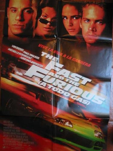 POSTER Cine - Poster Film : THE FAST AND THE FURIOUS