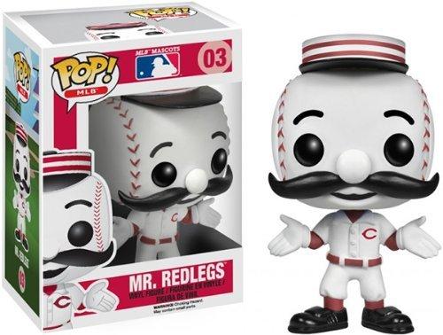 Funko Pop! Major League Baseball: Mr. Red Vinyl Figure by FunKo