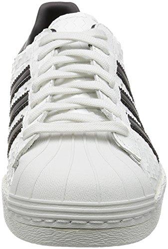 adidas Originals Superstar 80s Hommes Baskets Blanc S75836 Blanc