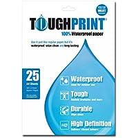 Toughprint Waterproof Paper - 25 A4 Sheets