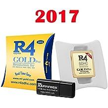 CARTE EN OR modèle 2017 ds / DS Lite / DSi / DSi XL / 3DS / 2DS / new3dsxl / new2ds micro SD compatible non fourni. jeux normaux