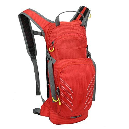 CHENGYUXUAN Esterno Sacchetto Impermeabile E Traspirante Corsa Sport Zaino Di Grandi Dimensioni Capacità Di Rivolta Zaino Trekking Passeggiate A Borsa Sportiva,Red Red