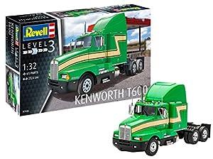 Revell- Maqueta Kenworth T600, Kit Modello, Escala 1:32 (07446), 25,6 cm de Largo (