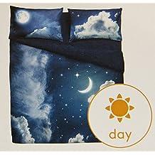 Funda nórdica Sweet Moon individual Bassetti (Saco cm.155x 250+ 1sábana bajera 90x 200+ 1funda de almohada)