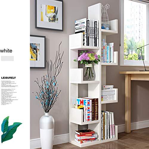 XUEYAN Bücherregal, bodenstehend Baum-förmige Student Bücherregal, Moderne Kinder Montage...