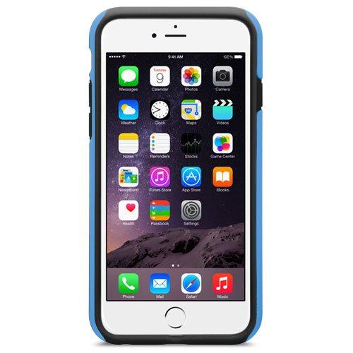 Melkco Kubalt Double Layer Case für Apple iPhone 6 weiß/schwarz Blau / Schwarz