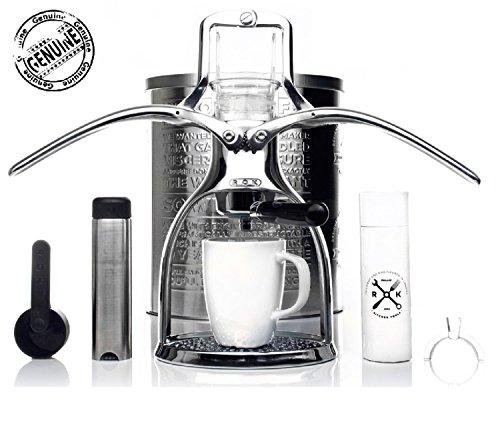 Presso - ROK Espressomaschine (inkl. Milchaufschäumer)