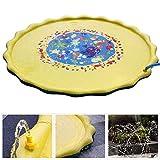 Dong Ran Splash Pad Outdoor Sommer Garten Splash Spielmatte für Baby, Kinder, Hund und Haustiere Outdoor Garten Wasserspielzeug (67