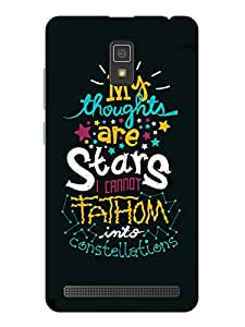 TREECASE Designer Printed Soft Silicone Back Case Cover For Lenovo A6600 Plus
