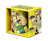 LOGOSHIRT - Astérix et Obélix mug de café - Prrrrr ! - Astérix le Gaulois mug à thé - multicolore - présenté dans un coffret cadeau - design original sous licence