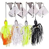 Sougayilang Buzzbait señuelo señuelos de pesca topwater Spinner Lure for Bass Pike pesca
