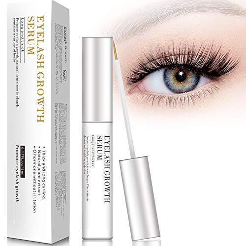 Wimpernserum und Augenbrauenserum 5ml Wimpern Booster Lash Serum mit Hyaluronsäure für...