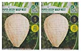 Roots & Shoots PMS Paper Decoy nido di vespe in sacchetto in polipropilene con inserto