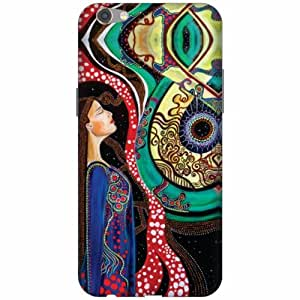 Printland 3D Designer Back Cover for Oppo F3 Along with a Free Personalized Pen with Your Name