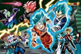 Ensky 1000 Piece Jigsaw Puzzle Dragon Ball Defend The Future Of The Ultra-Earth! (50 X 75 Cm) (japan import)