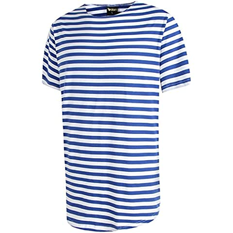 Camiseta larga con aplicación tejida y cremallera de extensión de Pizoff