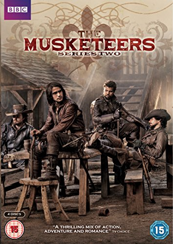 The Musketeers - Series 2 (4 DVDs)
