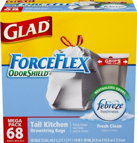 glad-forceflex-odorshield-tall-kitchen-drawstring-trash-bags-fresh-clean-13-gallon-204-count-by-glad