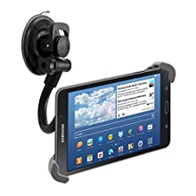 kwmobile Universal Car Tablet Holder - Windshield Windscreen Mount with Rotating Suction Cup for SUV, Truck, Van - Fits 21.0-34.0 cm Screens