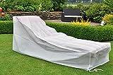 E-Senior Schutzhülle für Gartenliegen / Liegestühle / Sonnenliegen / Liegestühle-Heavy Duty Staub- / UV-Regenschutz für die Stühle der Wintermonate