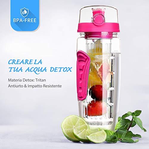 Zoom IMG-2 omorc bottiglia acqua detox 1
