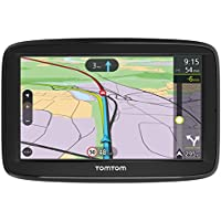 TomTom VIA 52 5-Inch Sat Nav with Lifetime Western Europe Map Updates, Lifetime Traffic, Hands-Free Calling, Black