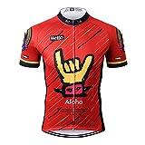 Thriller Rider Sports Uomo Aloha Sport e Tempo Libero Abbigliamento Ciclismo Magliette Manica Corta
