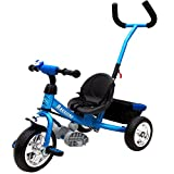 Trike Children 3 Wheel Kids Blue Tricycle Boys and Girls 3-Wheeler