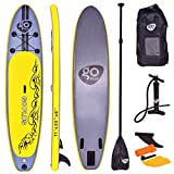 COSTWAY Paddelboard Surfboard Sup-Board Paddelbrett Stand up Board Set 335 * 76 * 15cm aufblasbar