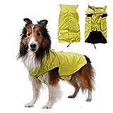 SUPEREX Pet Dog Coat Jacket Hund costüm wasserdicht Hundepullover Hundemantel, Regenjacke Regenmantel Winterjacke Hundebekleidung Hundejacke winter Warm Wintermantel Hundemantel für kleine mittlere große Hunde