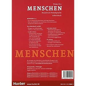 Menschen. A2.1. Arbeitsbuch. Con espansione online. Con CD Audio. Per le Scuole superiori: MENSCHEN A2.1 Ab+CD-Audio (ejerc.): 3