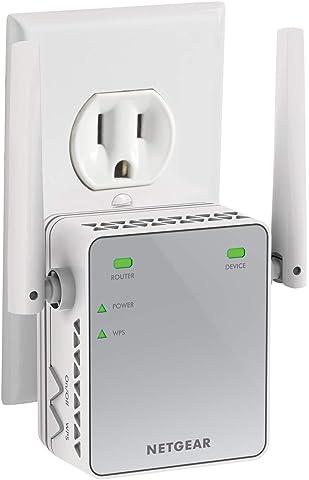 Netgear EX2700 N300 Wi Fi Range Extender  White