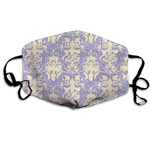 Tentakel des Schädel-U0026 in der blassen Lavendel-Masken-Mund-Masken-Hals-Gamaschen-Maske Bandana-Sturmhaube Ostern St Patrick Tag
