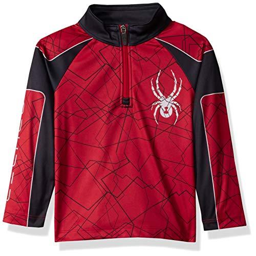 SPYDER Mini Limitless Bug Camo Camiseta T/érmica Ni/ños
