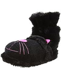 Divertidas Pantuflas con Diseño de Gato Negro Unisex Para Adultos, de La Marca Aroma Home