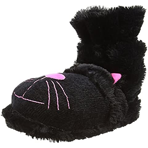 Zapatos de aroma Home Diversión Para Pies de gato negro, unisex adulto Zapatillas de parte trasera