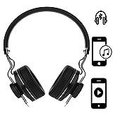 Handy Kopfhörer | für Gionee A1 Plus | CSR 4.0 + EDR Wireless | Stereo Sound Bluetooth Headsett | Kopfhörer Schwarz ZA1