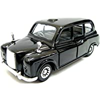 Pull Back London Taxi Die Cast Taxi London Black Cab Metal Toy Car Taxi Souvenir by Elgate